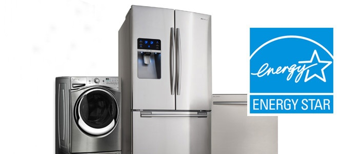 Group of ENERGY STAR appliances