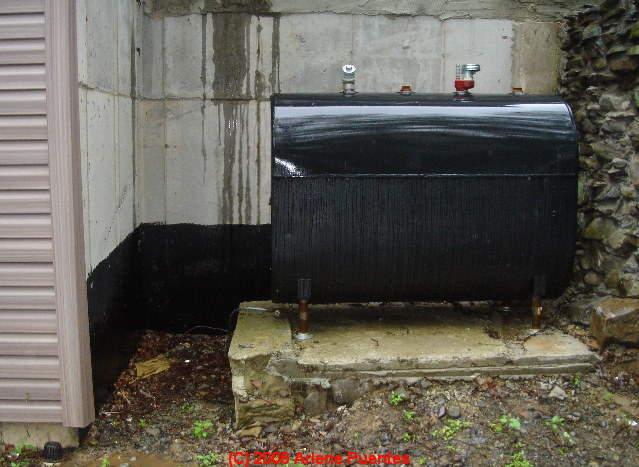 oil tank top off