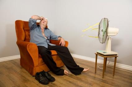 broken air conditioning