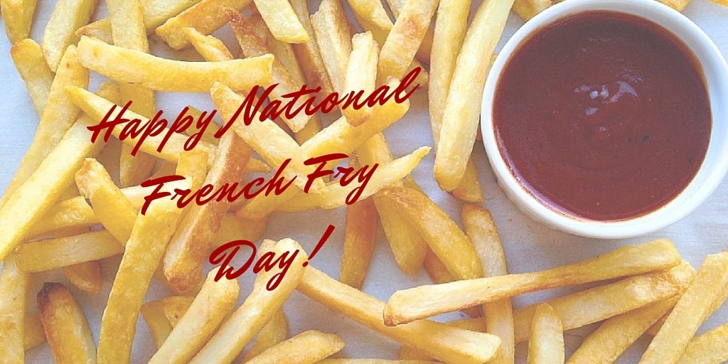 happy national french fry day